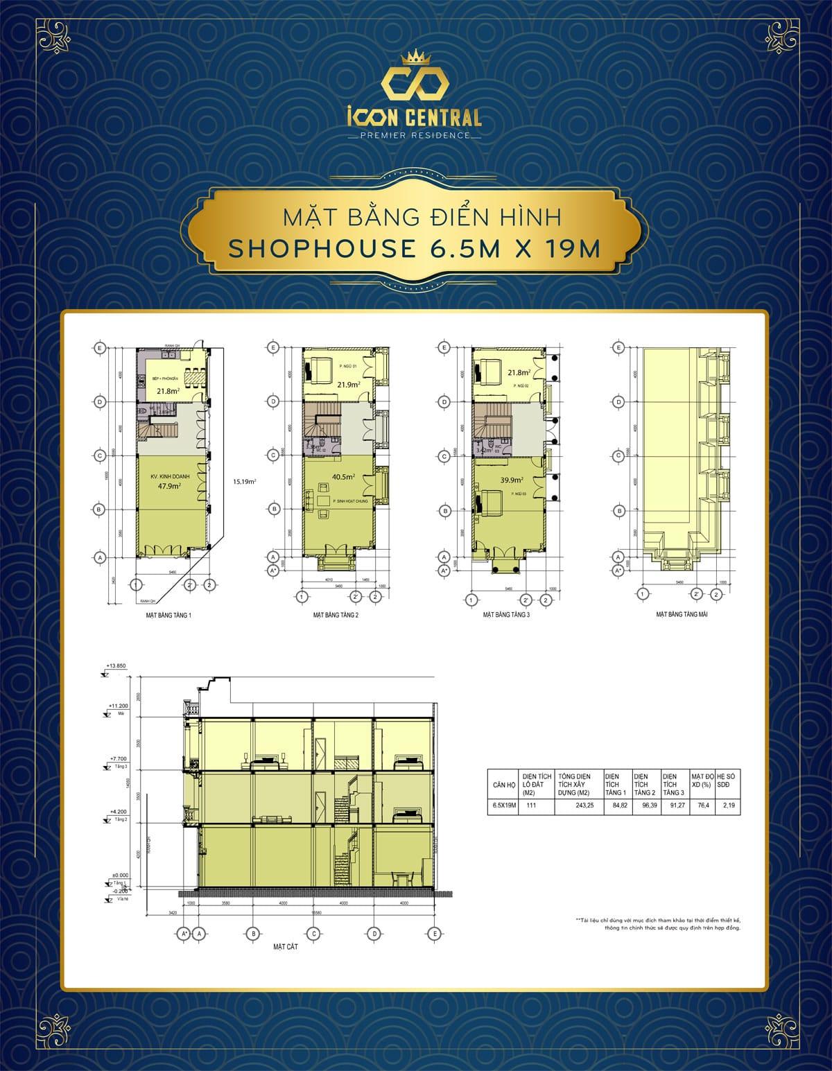mat bang dien hinh shophouse di an 6 m 5 x 19m icon central - mat-bang-dien-hinh-shophouse-di-an-6-m-5-x-19m-icon-central