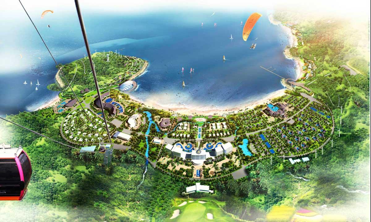 Phối cảnh Dự án VinPearl Làng Vân Đà Nẵng