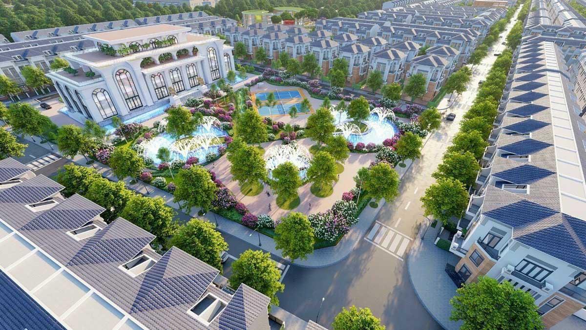 Cong vien noi khu Du an Vega City Long Thanh Dong Nai - VEGA CITY LONG THÀNH