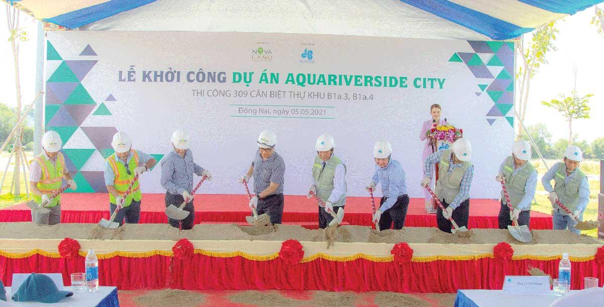 Khoi cong Du an Aqua Riverside City - Aqua Riverside City