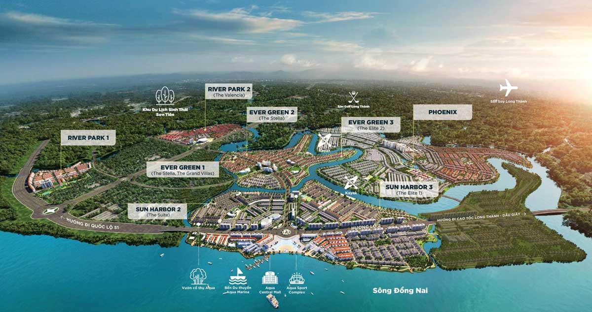 Mat bang Du an Aqua Riverside City - Aqua Riverside City