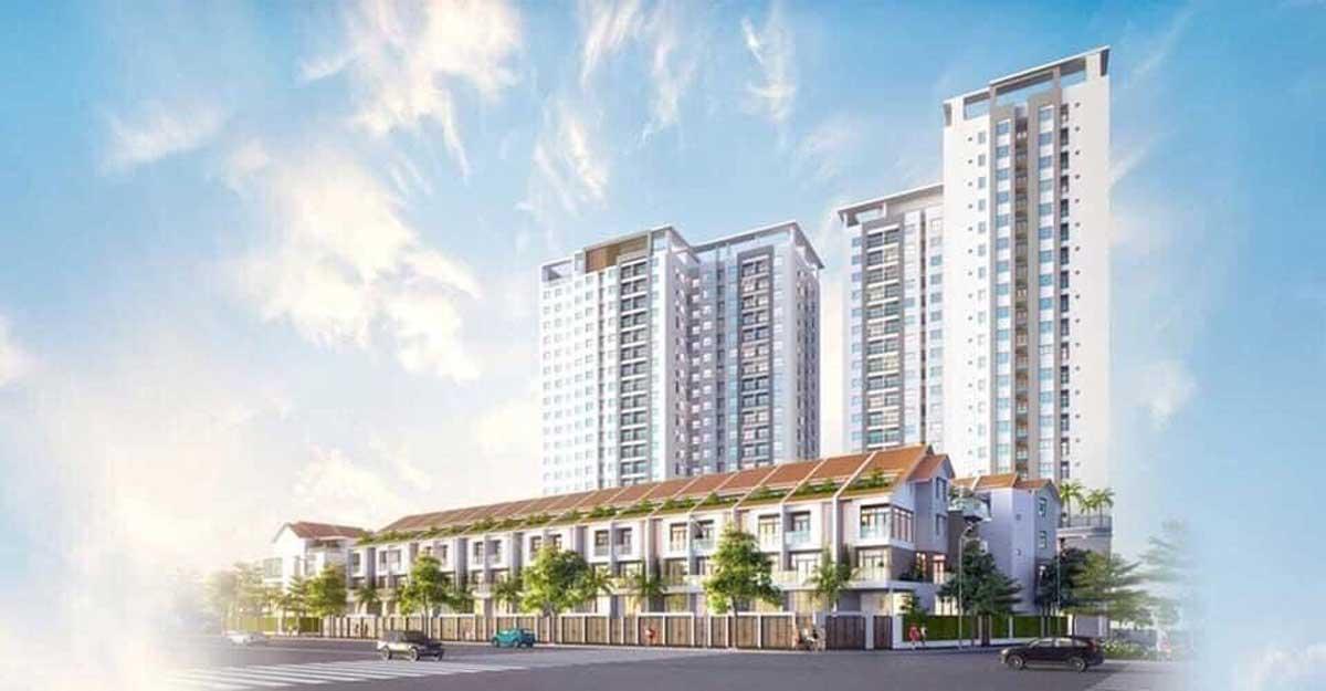 Phối cảnh Dự án Richmond Quy Nhơn Bình Định
