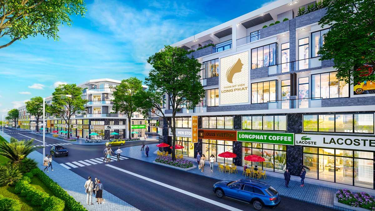 Shophouse Long Phat Residence - LONG PHÁT RESIDENCE