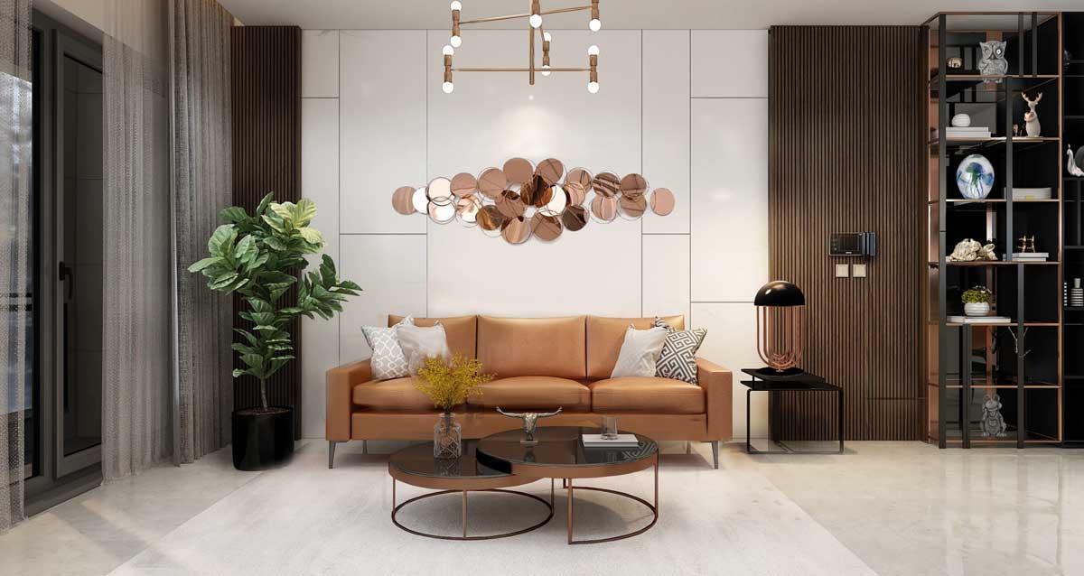 Sofa Can ho Celesta Heights Nha Be - Celesta Heights Nhà Bè