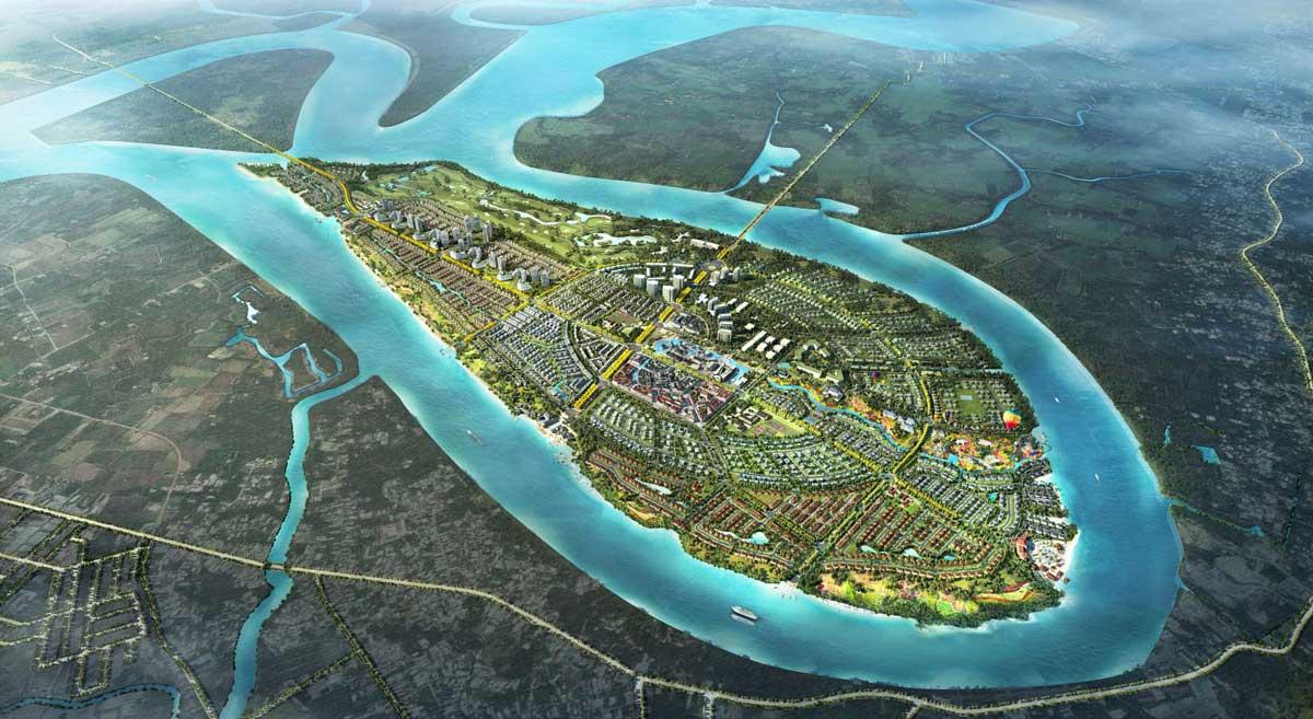 Phối cảnh Dự án Swanbay Oasis Nhơn Trạch Đồng Nai
