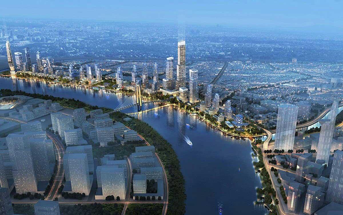 Phối cảnh Dự án The Saigon Riverfront Quận 4