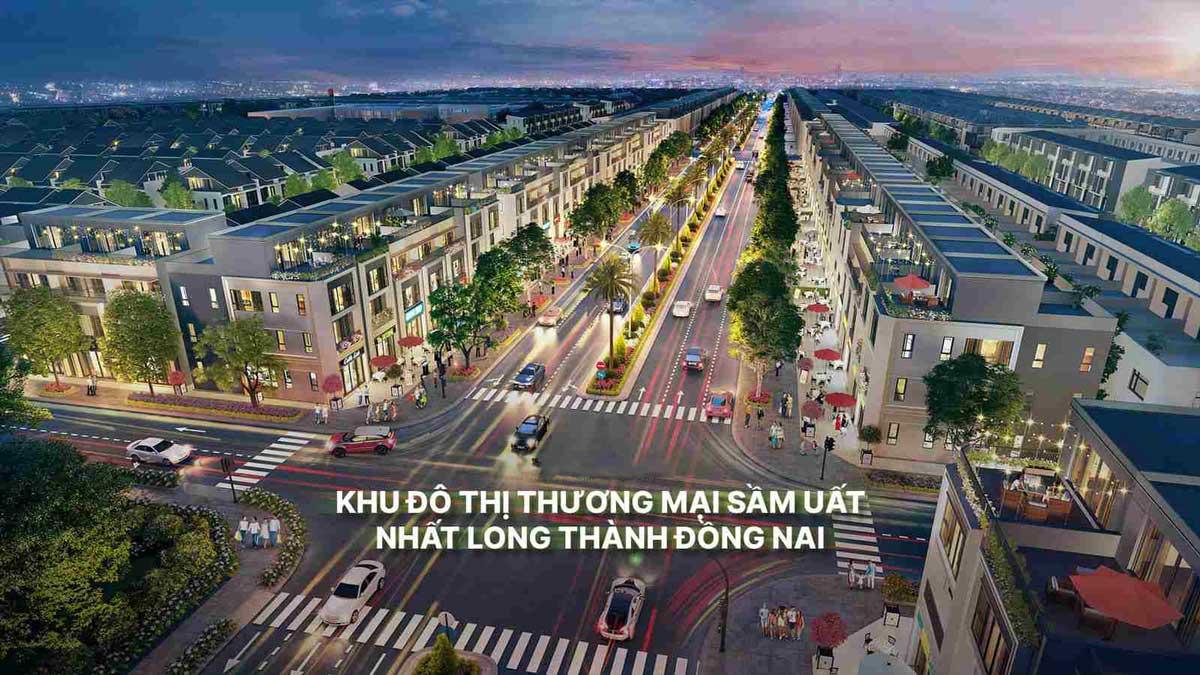 Thiet ke Vega City Long Thanh Dong Nai - VEGA CITY LONG THÀNH