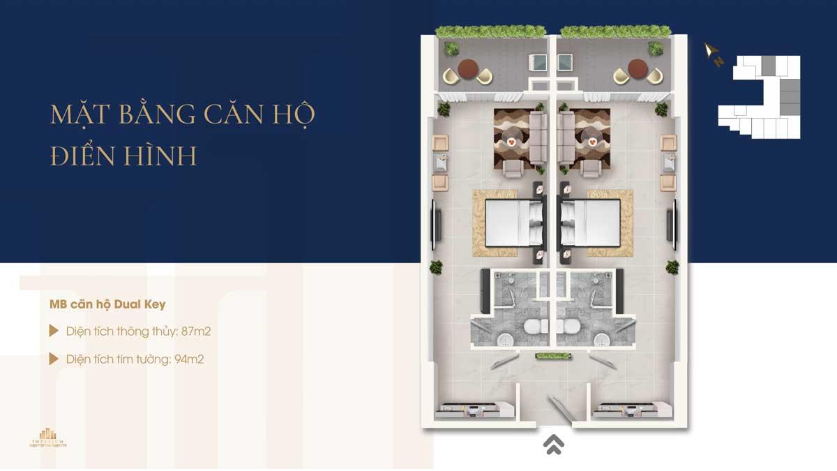 Thiet ke can ho Dual Key Imperium Town Nha Trang - IMPERIUM TOWN NHA TRANG