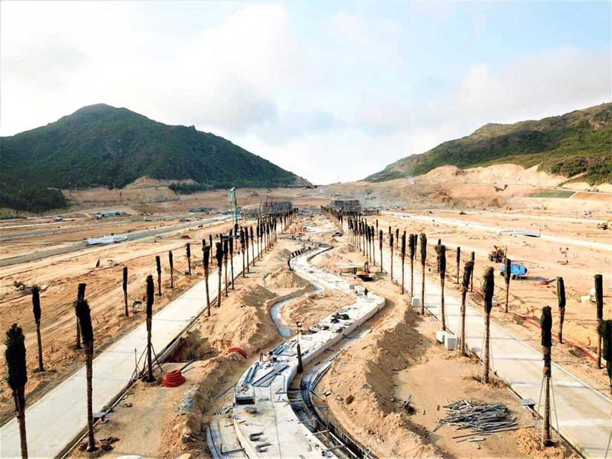 Tien do thi cong Du an Hai Giang Merry Land moi nhat nam 2021 - HẢI GIANG MERRY LAND QUY NHƠN