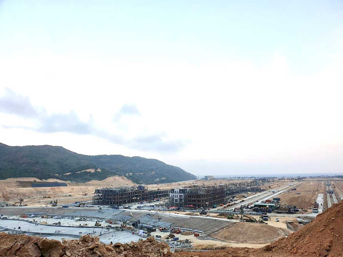 Tien do thi cong Hai Giang Merry Land - HẢI GIANG MERRY LAND QUY NHƠN