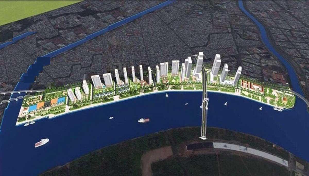 Tien ich khu cong vien ven song Du an The Saigon Riverfront - THE SAIGON RIVERFRONT