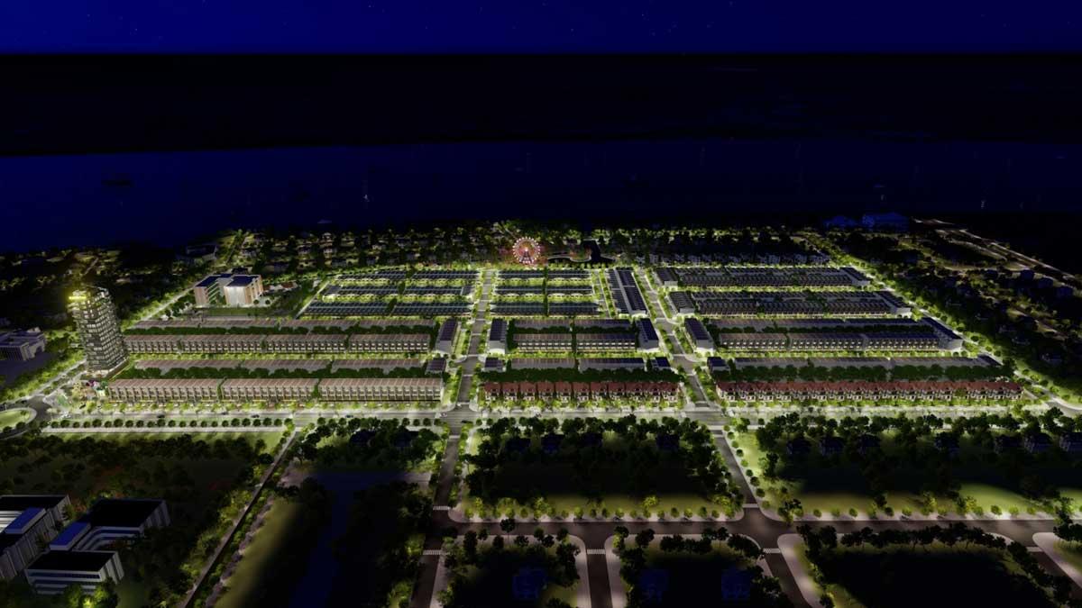 Tong the Du an Con Khuong Diamond City - Cồn Khương Diamond City