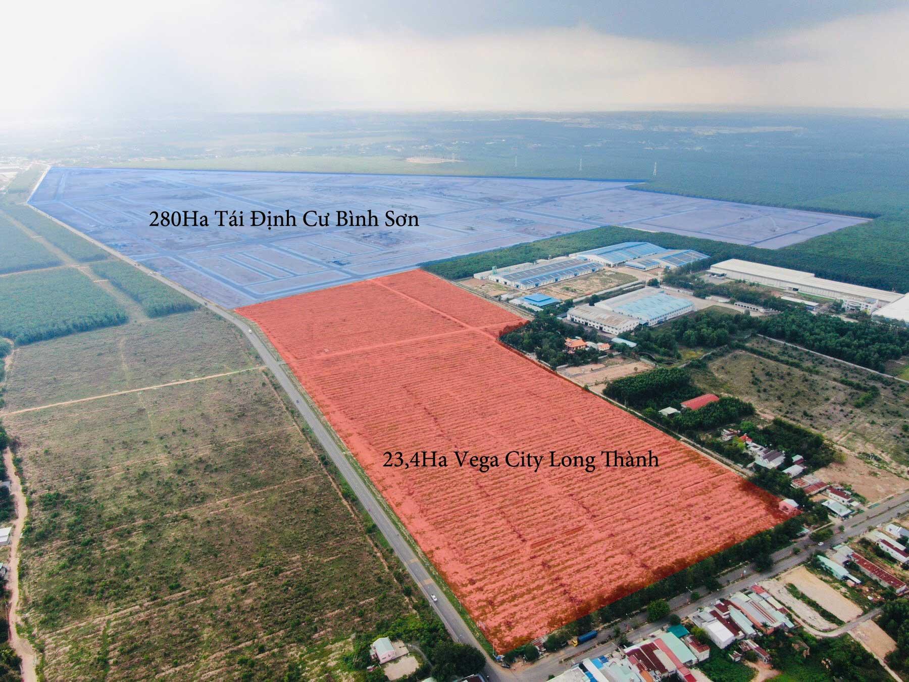 Tong the Du an Vega City Long Thanh Dong Nai - VEGA CITY LONG THÀNH