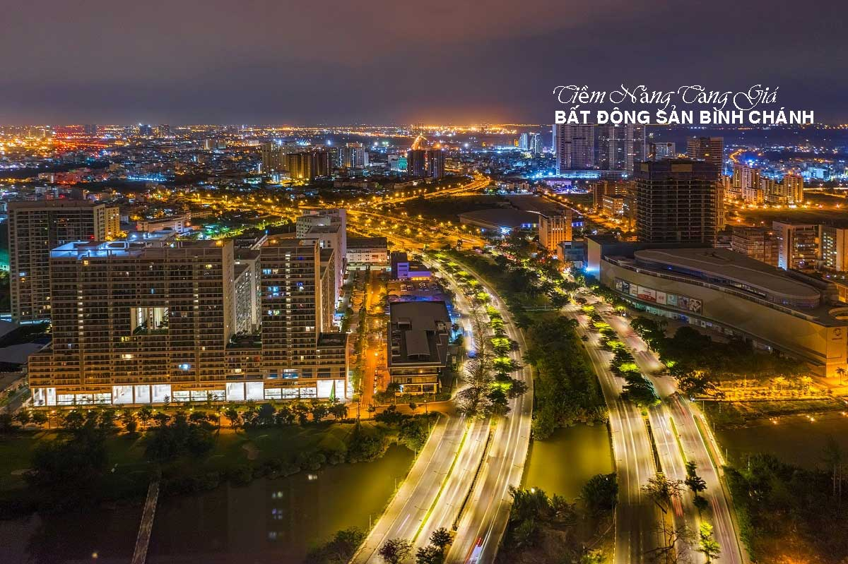 tiem nang tang gia cua bat dong san binh chanh - Uni Park
