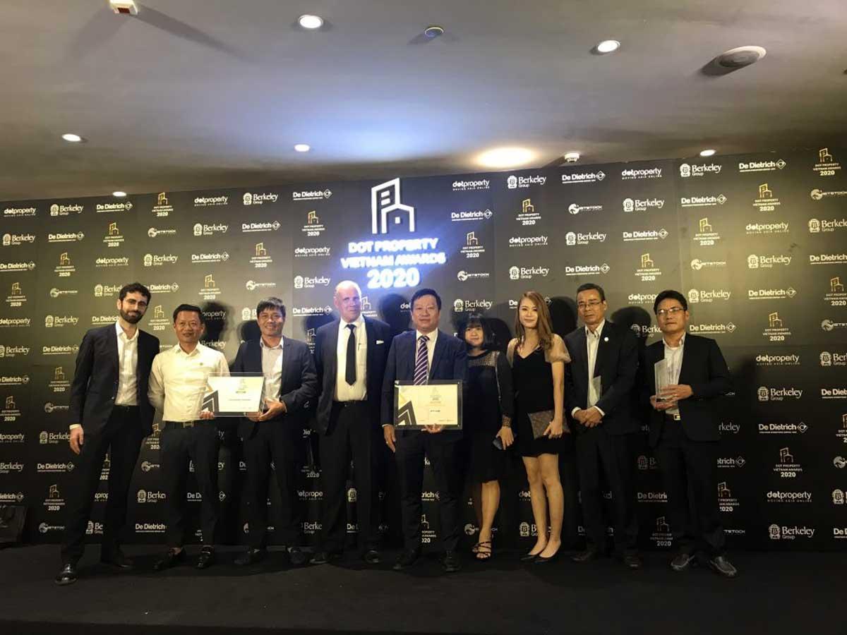 Casa Marina Premium dat giai Best Sustainable Developer Vietnam 2020 - BAMBOO CAPITAL GROUP