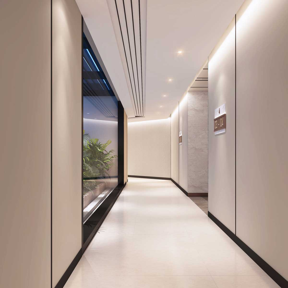 Hanh lang Can ho Thao Dien Green Towers - Thảo Điền Green Towers Quận 2