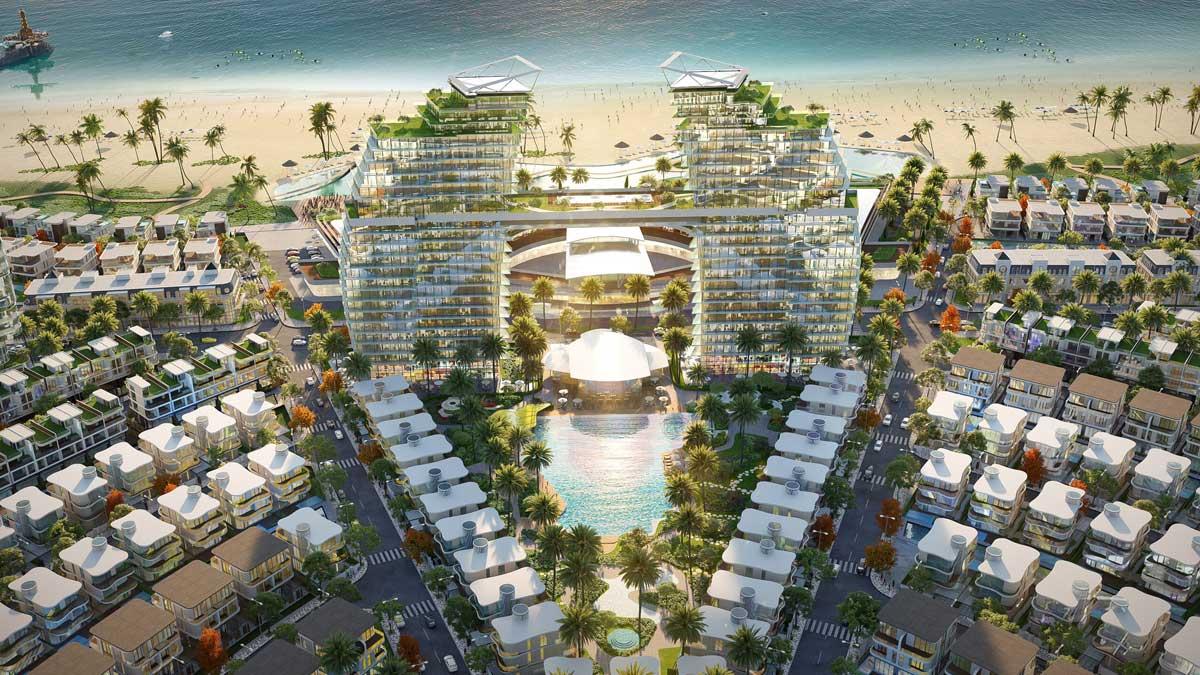 Khu khach san Venezia Beach - VENEZIA BEACH HỒ TRÀM BÌNH CHÂU