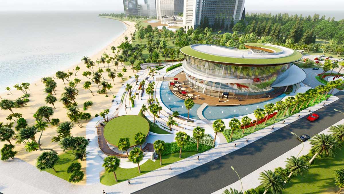 Nha dieu hanh Du an merry city Hai Giang - Merry City