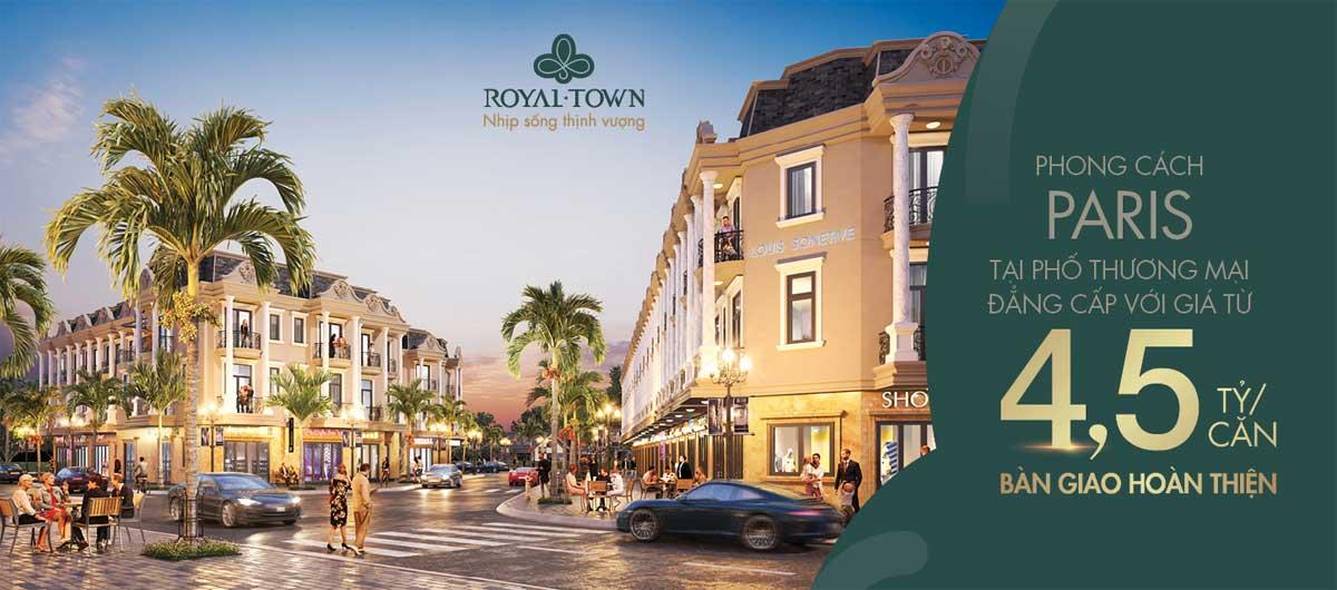 Nha pho Royal Town - Royal Town