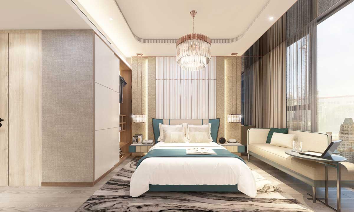Phong ngu Can ho 2PN Thao Dien Green - Thảo Điền Green Towers Quận 2