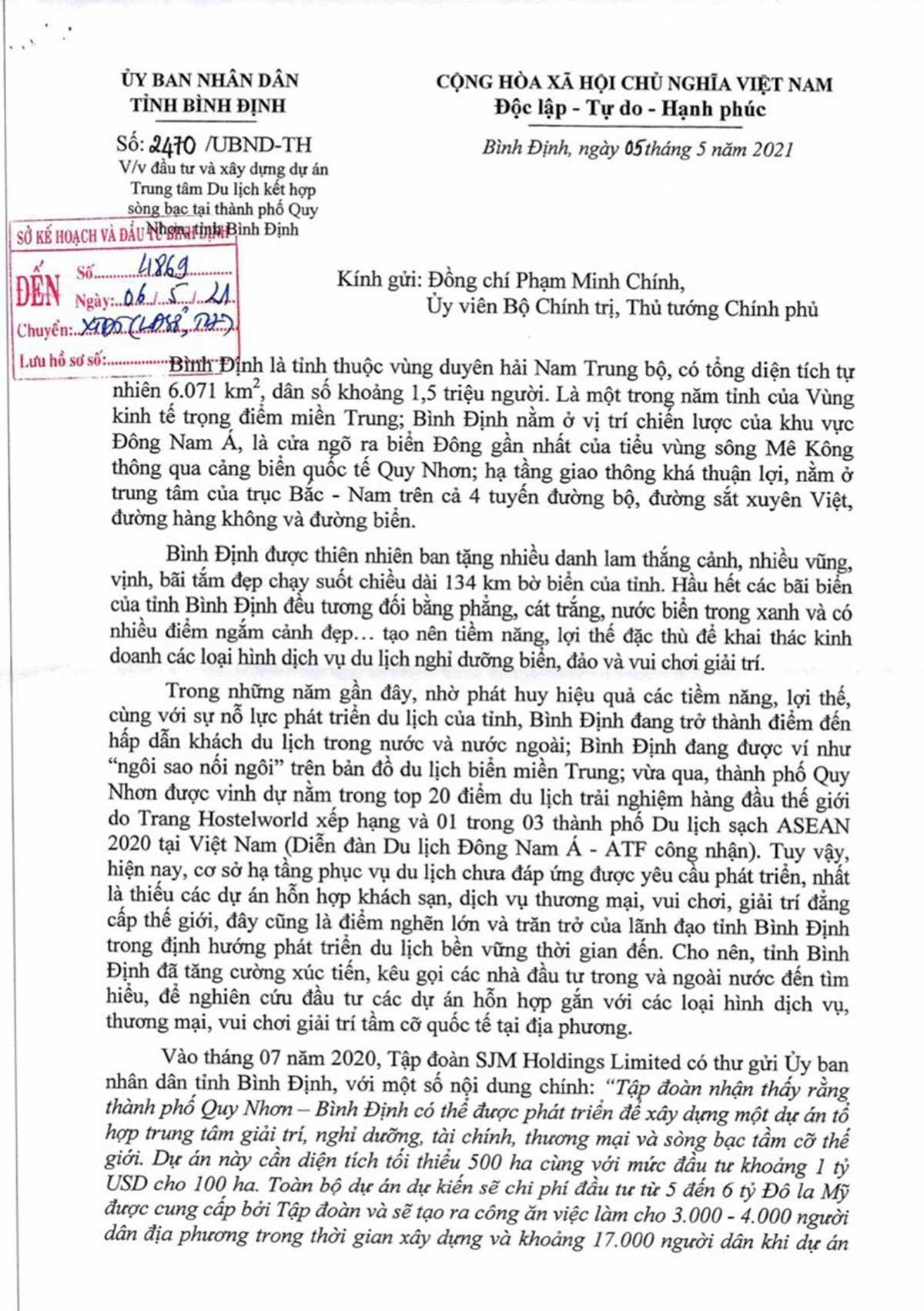 SJM Holdings Limited Xay Dung Song Bac Lon Nhat Chau A - HẢI GIANG MERRY LAND QUY NHƠN