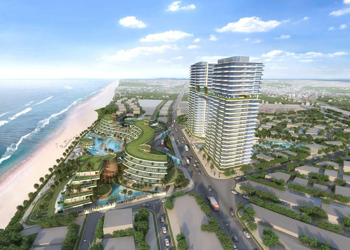 Sheraton Hotel Venezia Beach Ho Tram - VENEZIA BEACH HỒ TRÀM BÌNH CHÂU