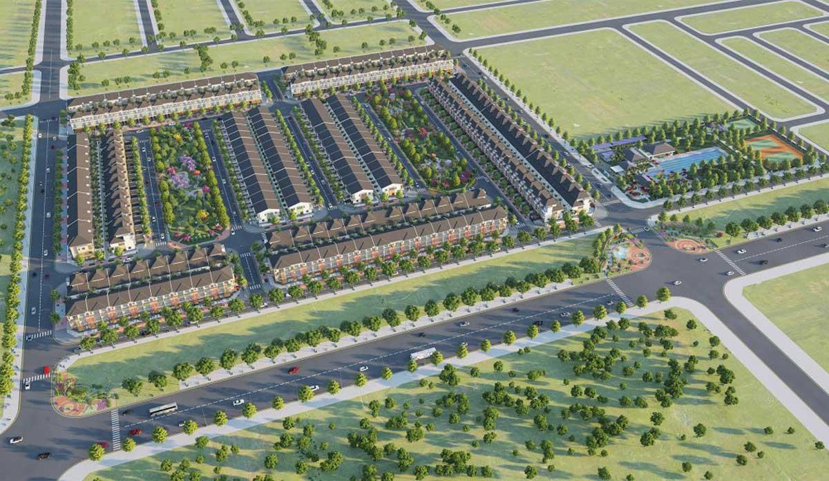 Tổng thể Dự án Sun Casa Central Bình Phước