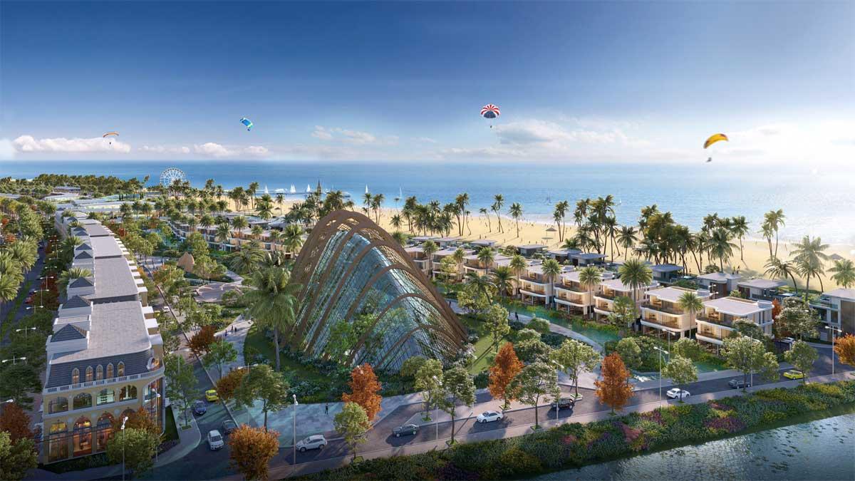 Tien ich cong vien bien Venezia Beach - VENEZIA BEACH HỒ TRÀM BÌNH CHÂU