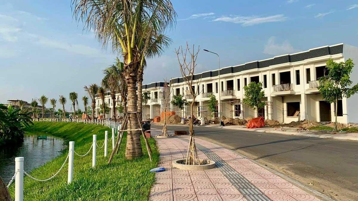 cap nhat tien do thi cong du an the sol city long an thang 6 nam 2021 - The Sol City