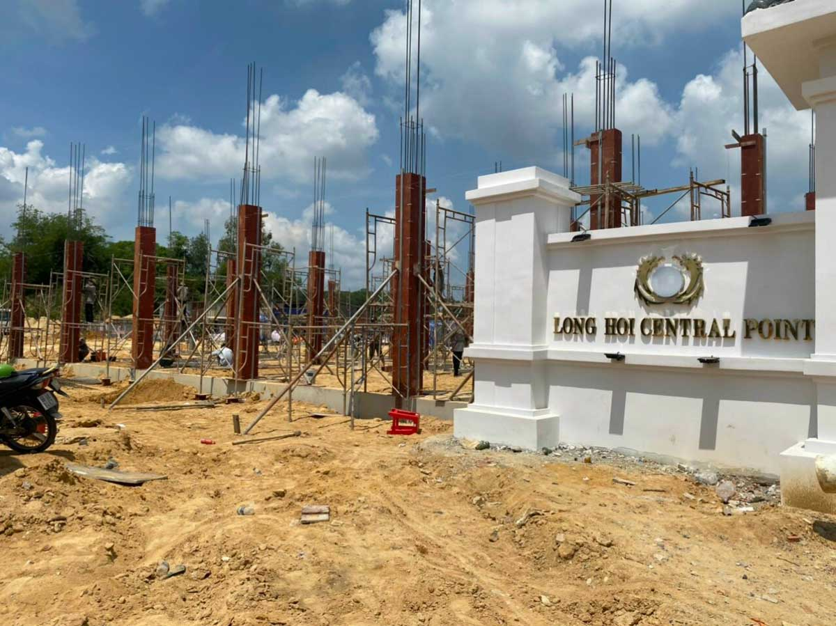 tien do thi cong du an long hoi central point moi nhat thang 6 nam 2021 - LONG HỘI CENTRAL POINT