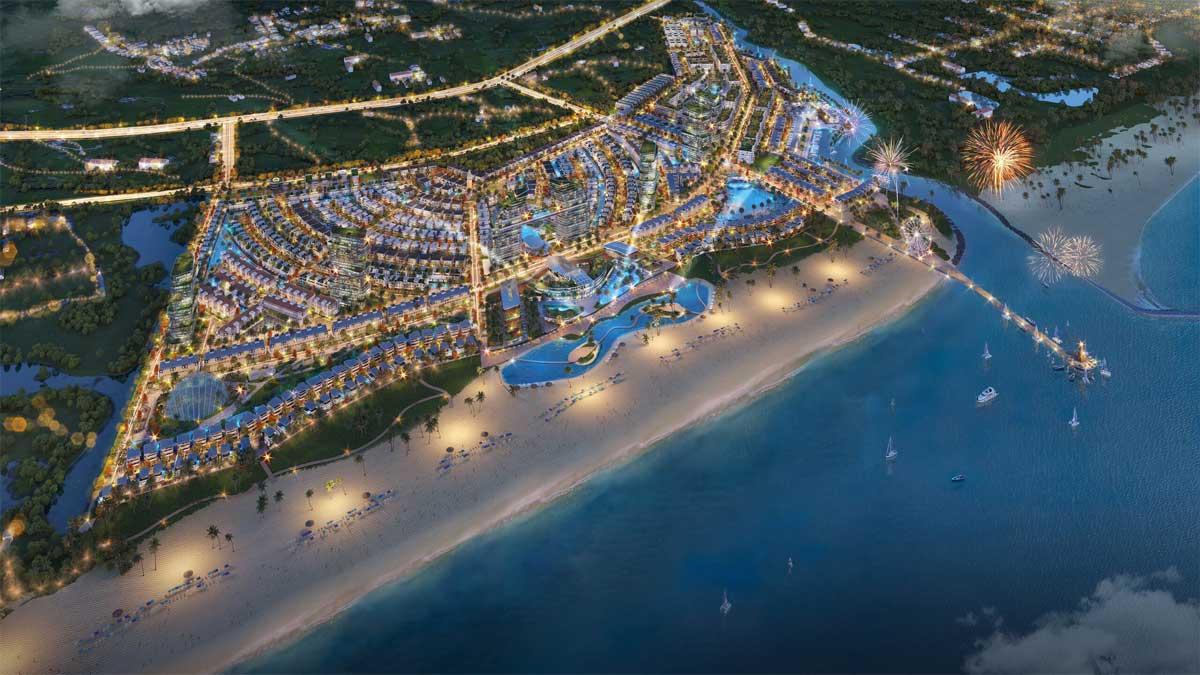 toan canh du an Venezia Beach - VENEZIA BEACH HỒ TRÀM BÌNH CHÂU
