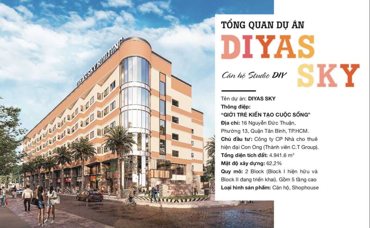 tong the du an can ho diyas sky - Diyas Sky