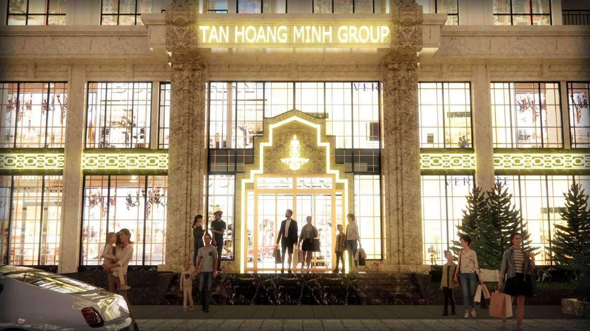Chu dau tu Tan Hoang Minh D. Metropole Ha Tinh - D'. Metropole