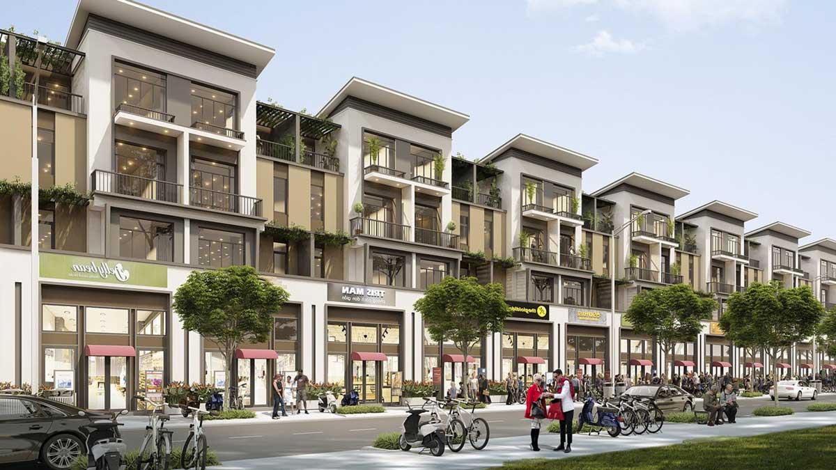Khu Nha pho TT Millennia City 2021 - T&T MILLENNIA CITY
