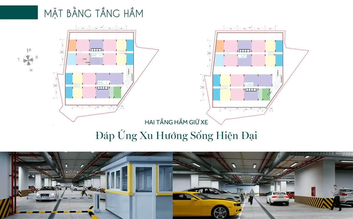 Mat bang tang ham Du an Thien Quan Marina Plaza Can Tho - Thiên Quân Marina Plaza Cần Thơ