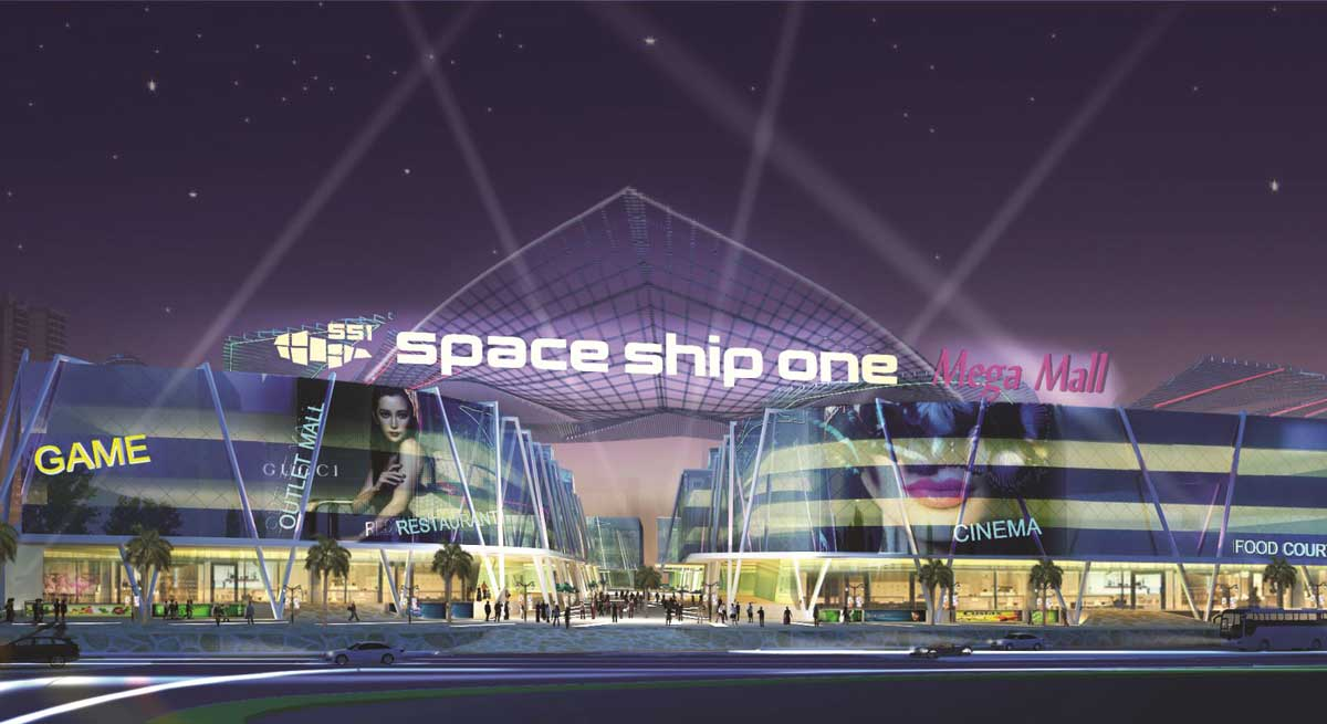 SS1 Space Ship One - Diyas SS1 Space Ship One