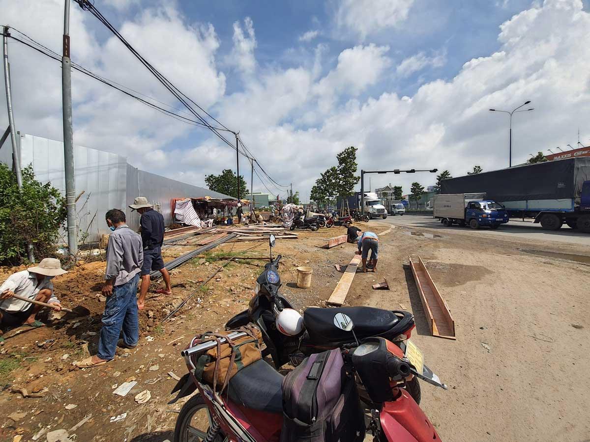 Tien do thi cong thuc te cong du an honas residence 2021 - Honas Residence
