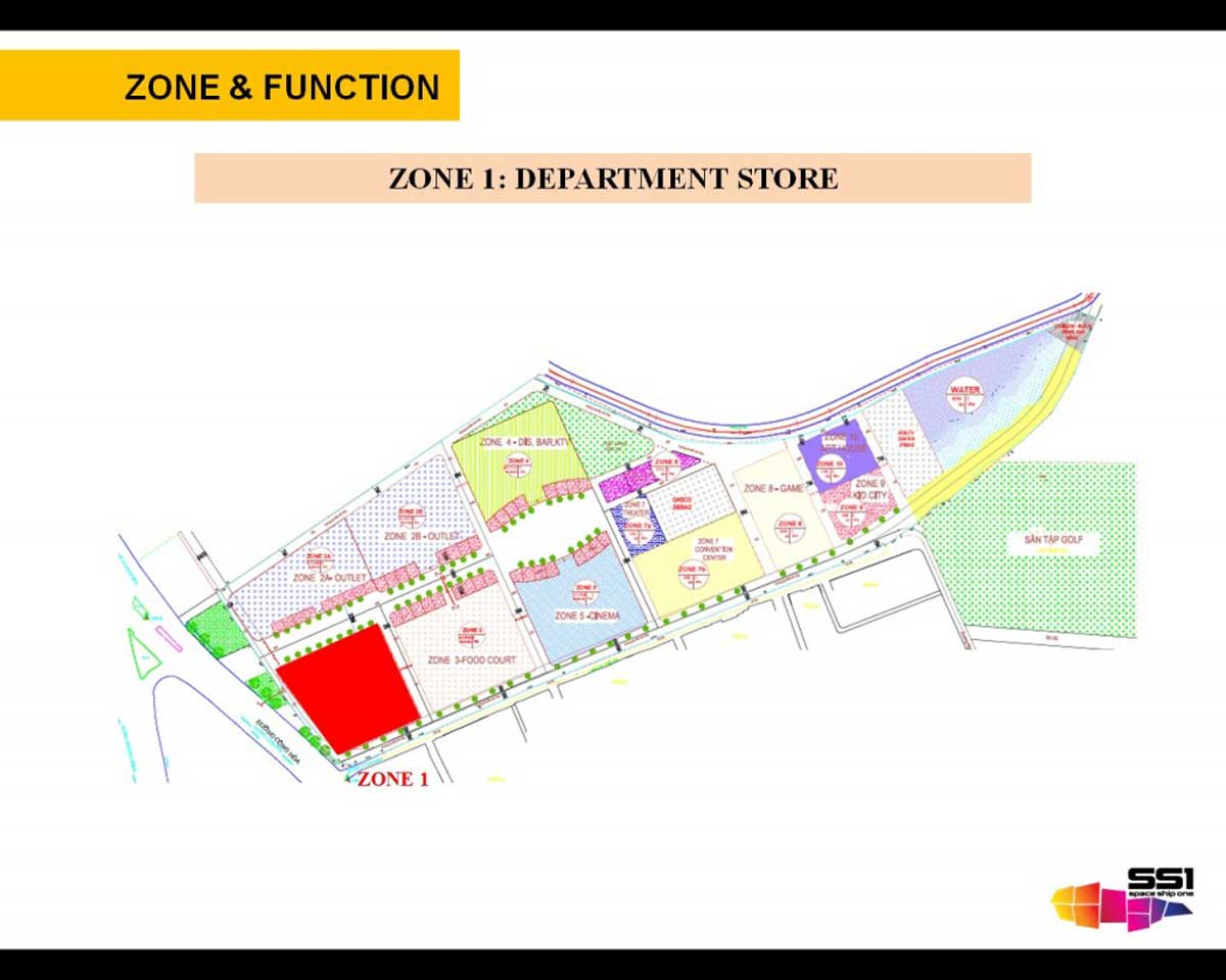 ZONE 1 DEPARTMENT STORE - Diyas SS1 Space Ship One