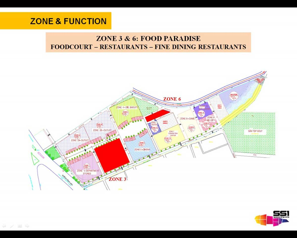ZONE 3 6 FOOD COURT – RESTAURANTS – FINE DINING RESTAURANTS - Diyas SS1 Space Ship One