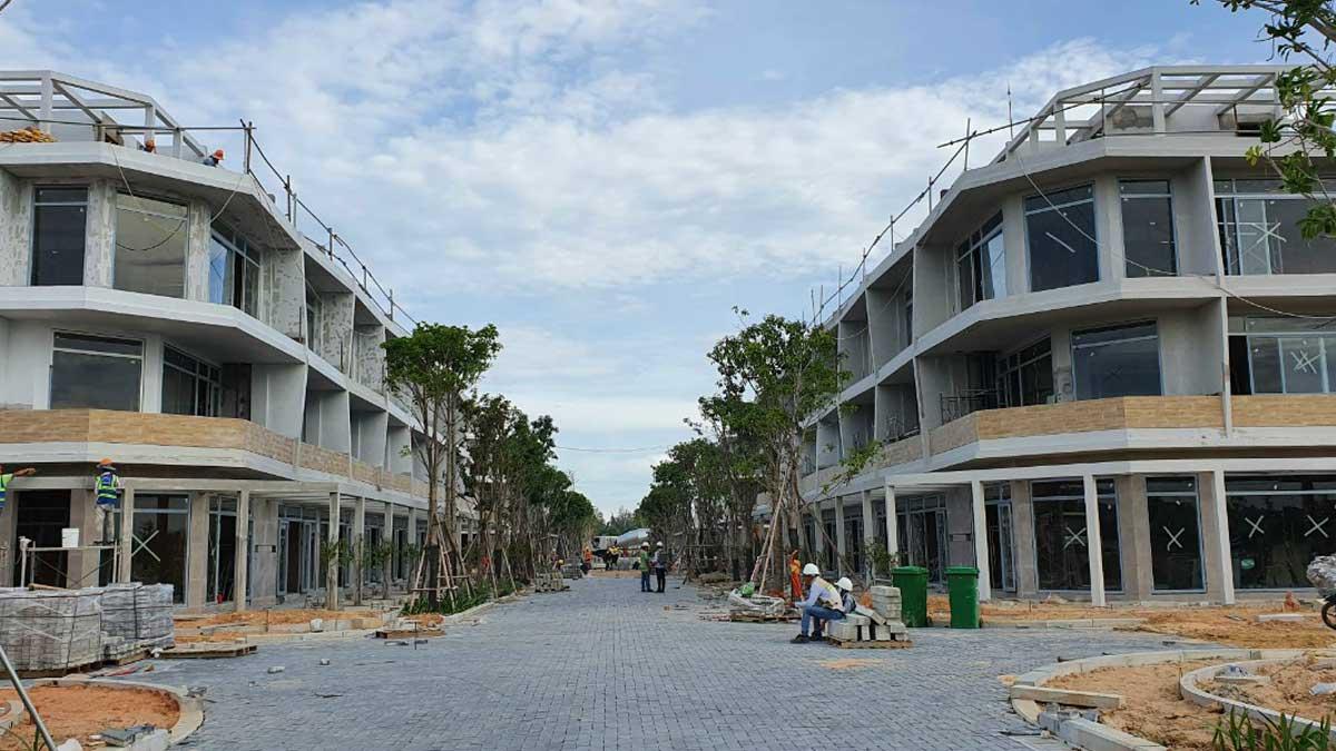 cap nhat tien do thi cong nha pho du an Thanh Long Bay thang 7 nam 2021 - THANH LONG BAY PHAN THIẾT BÌNH THUẬN