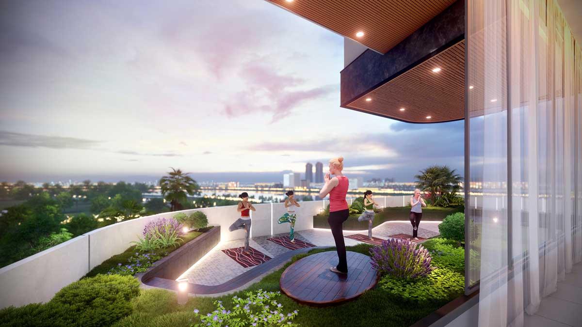 khu yoga thao dien green q2 - Thảo Điền Green Towers Quận 2