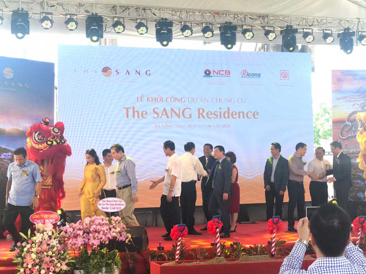 le khoi cong du an the sang residence da nang nam 2021 - The Sang Residence