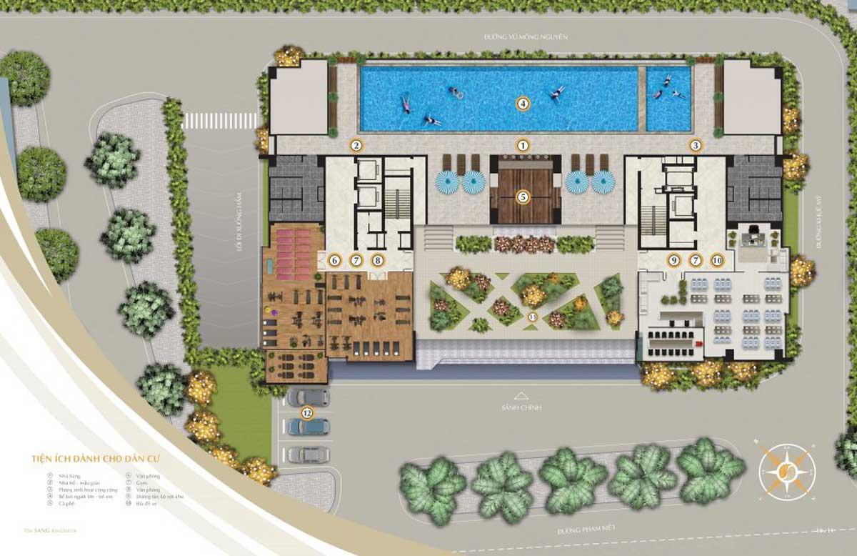mat bang tien ich du an can ho the sang residence da nang 2021 - The Sang Residence