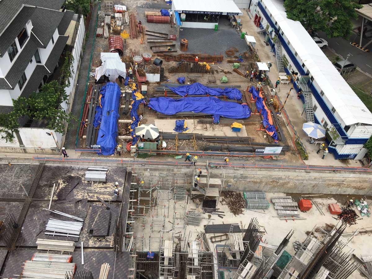 tien do thi cong du an thao dien green quan 2 thang 7 nam 2021 - Thảo Điền Green Towers Quận 2