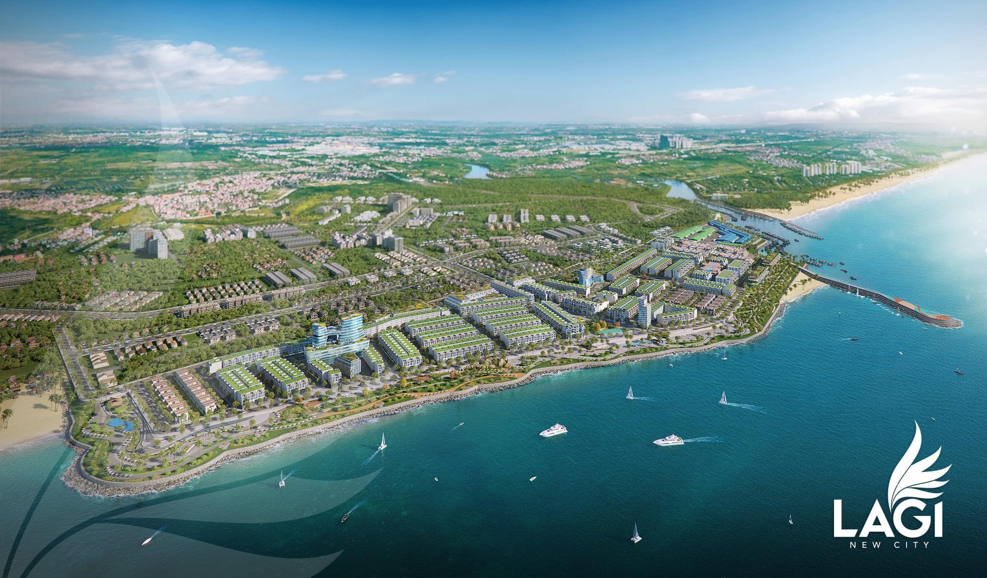 Phối cảnh Dự án Phức hợp Đô thị Thương mại Dịch vụ & Du lịch Biển Lagi New City