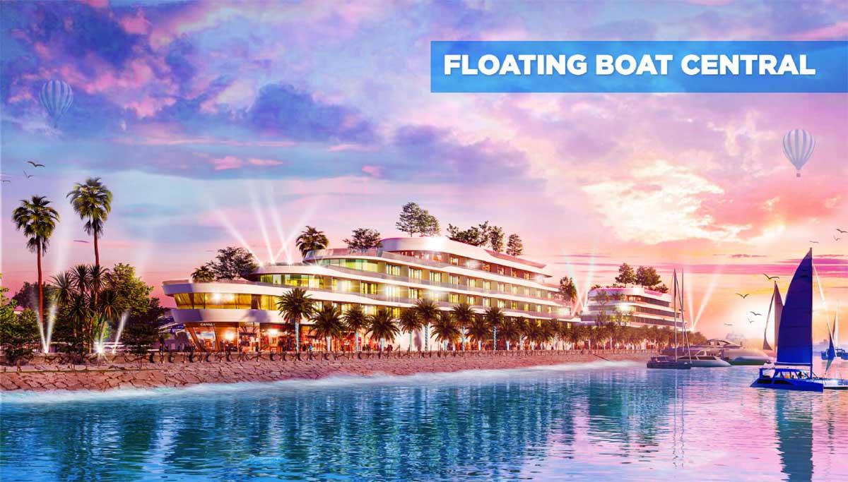 Floating Boat Central tai Lagi New City - Floating-Boat-Central-tại-Lagi-New-City