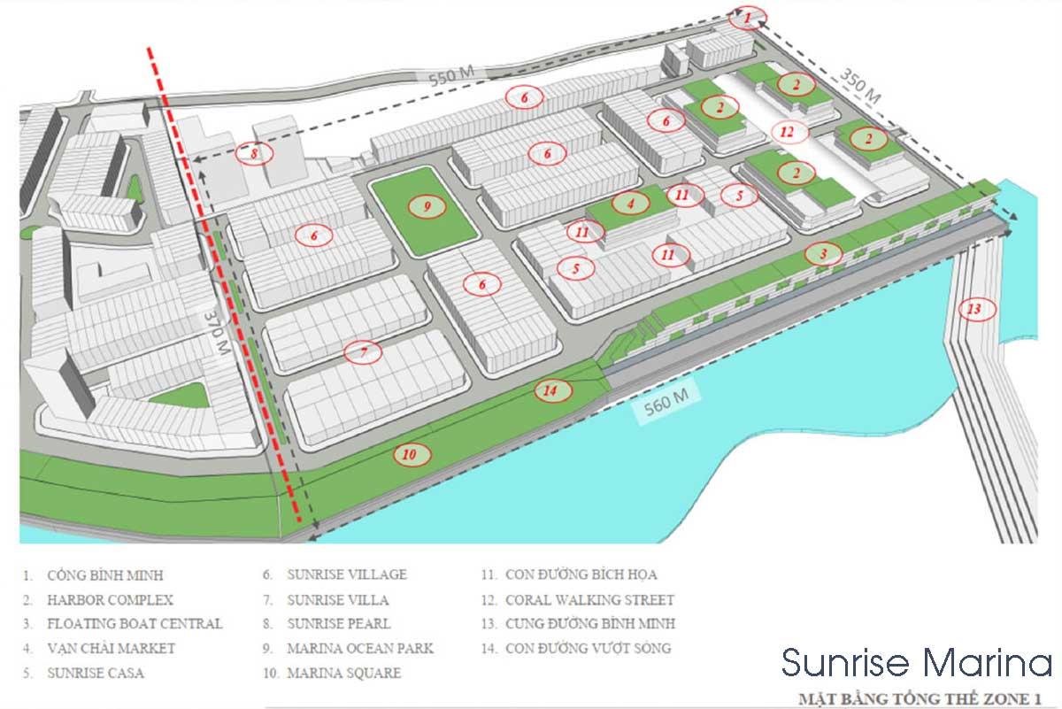 Mat bang Phan khu Sunrise Marina tai Du an Lagi New City - Mặt-bằng-Phân-khu-Sunrise-Marina-tại-Dự-án-Lagi-New-City