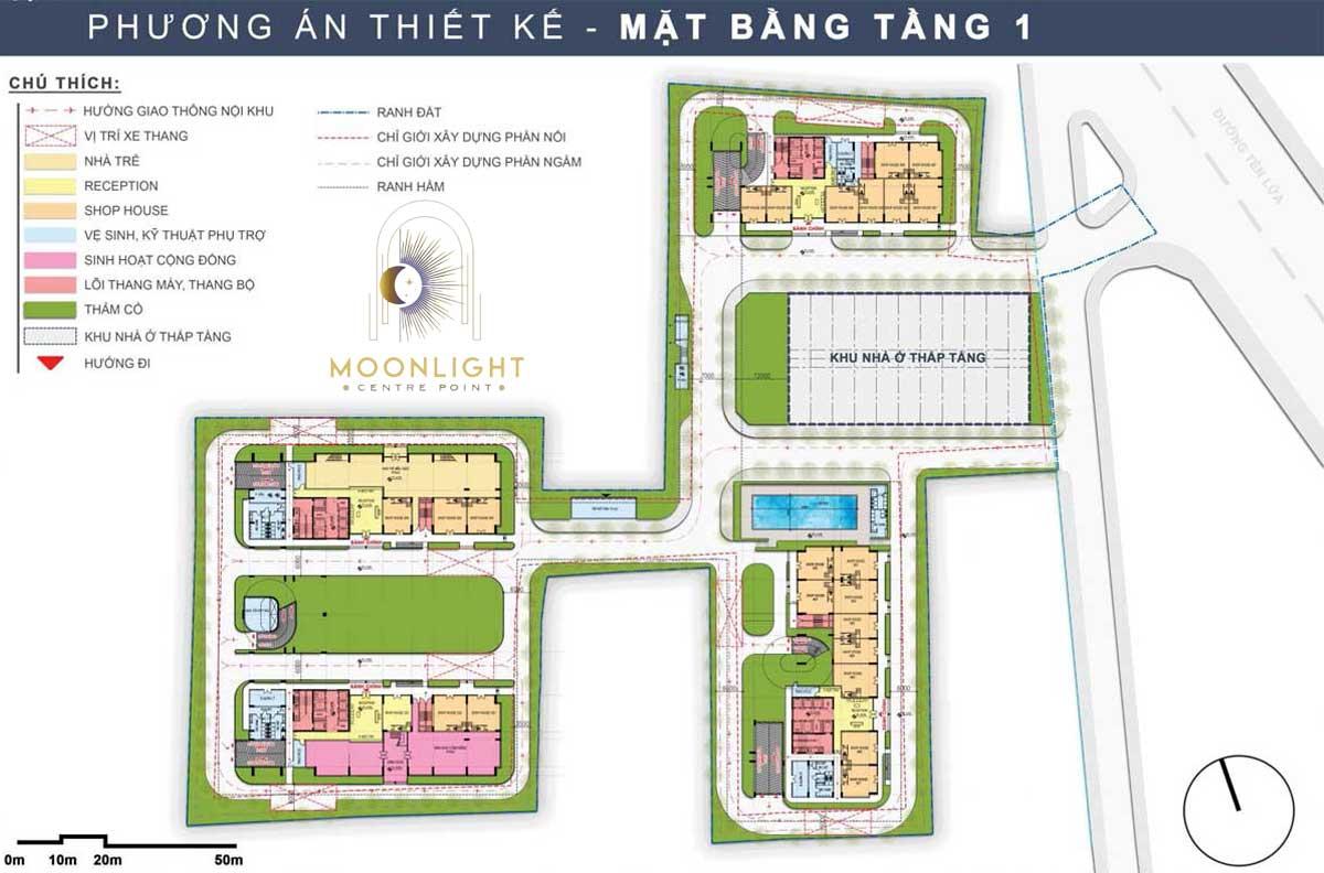 Mat bang Tang 1 Du an Moonlight Centre Point Binh Tan - Mat-bang-Tang-1-Du-an-Moonlight-Centre-Point-Binh-Tan