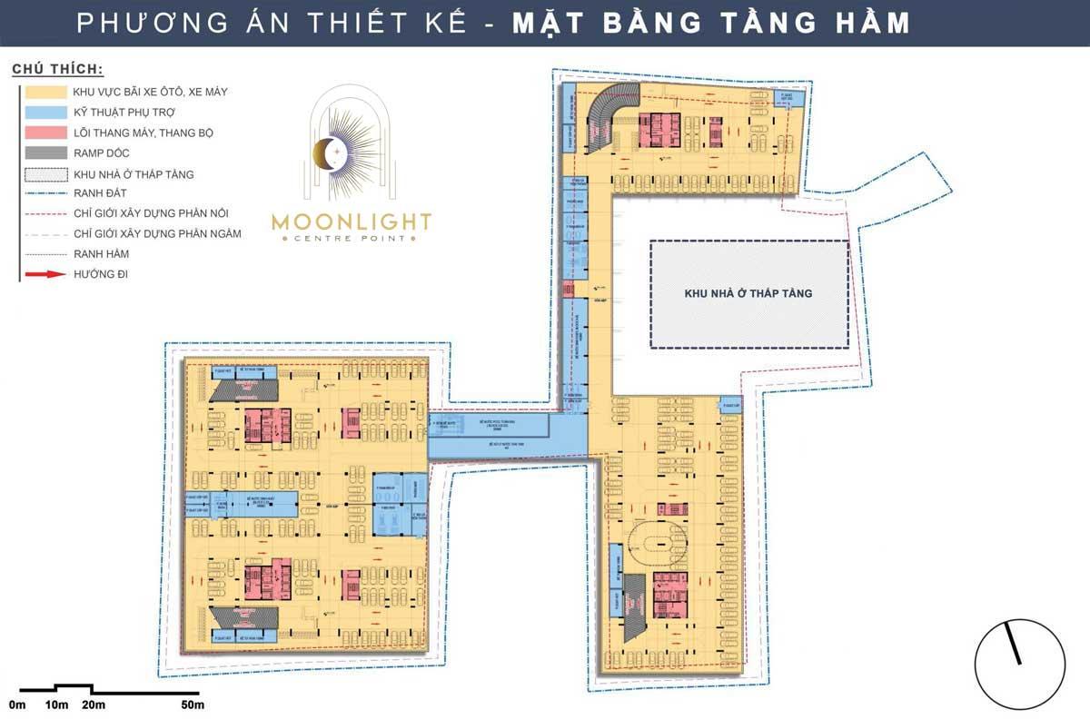 Mat bang Tang Ham Du an Moonlight Centre Point Binh Tan - Moonlight Centre Point