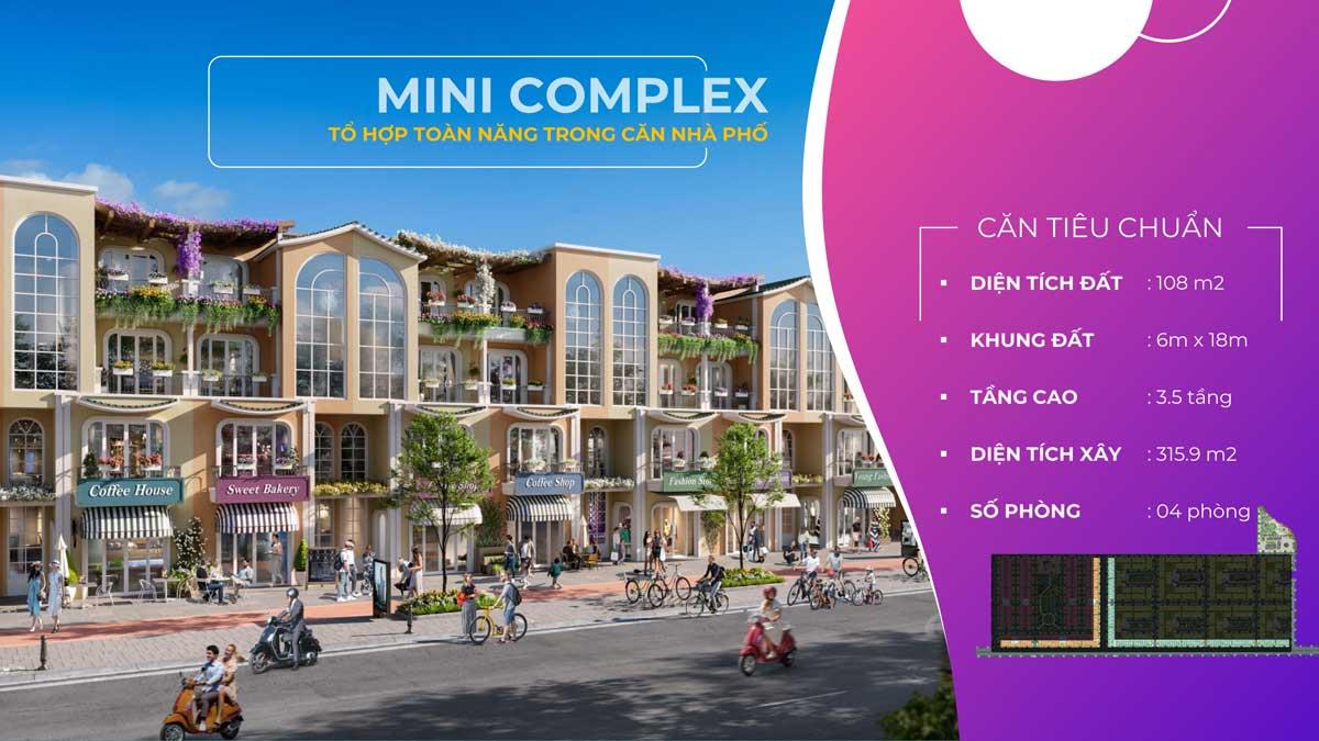 Nha pho lien ke Mini Complex ParaSol Cam Ranh - ParaSol Cam Ranh